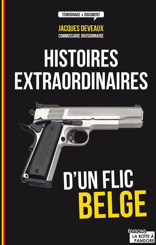 couv histoires extraordinaires flic belges