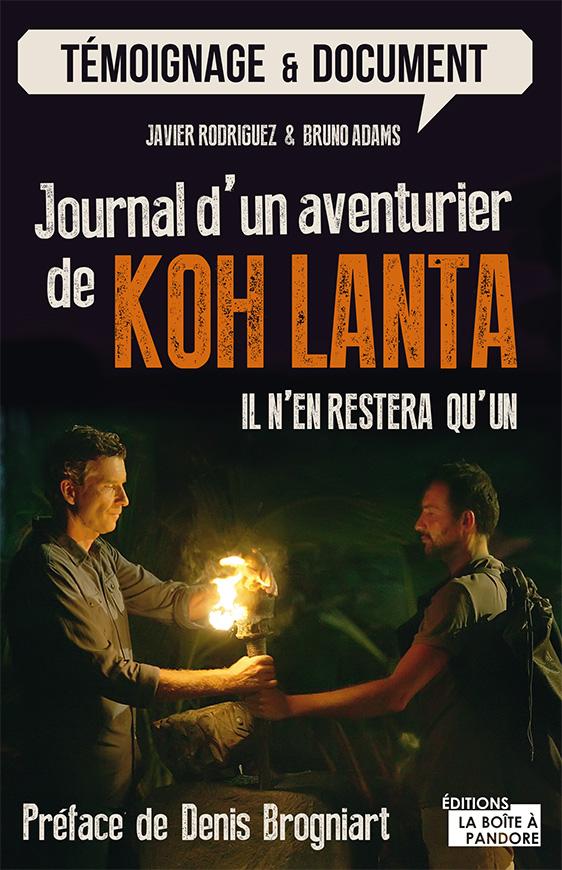 couv journal d'un aventurier de koh lanta