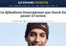 Le Figaro : Ces djihadistes…