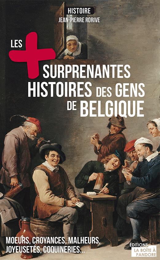 couv les plus surprenantes histoires gens de belgique