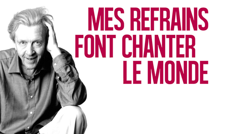 Michel Jourdan : Mes refrains font chanter le monde