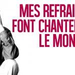Michel Jourdan : Mes refrains font chanter le monde