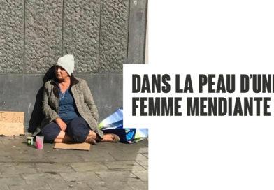 Dans la peau d'une femme mendiante