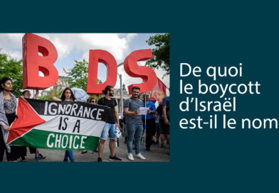 De quoi le boycott d'Israël est-il le nom ?
